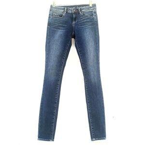 Articles Of Society Skinny Blue Denim Jeans 24
